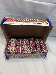 Nestle Baby Ruth Chocolate Candy Peanuts 24 Pack Caramel 1.9 Ounce Bars