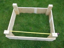 TIMBER RAISED BED / HERB PLANTER GARDENING / ALLOTMENTS / VEGETABLES BEDS