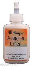 Mayco Designer Liner - Sg402 - White - 1.25 Ounce