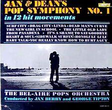 JAN & DEAN - POP SYMPHONY NO. 1 - LIBERTY LP - 1965
