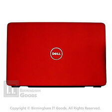 DELL INSPIRON 1545 1546 Rear COVER LID DARK RED  Matt J456M with  HINGES