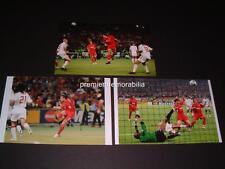LIVERPOOL FC 2005 CHAMPIONS LEAGUE FINAL GOALS STEVEN GERRARD XABI ALONSO SMICER