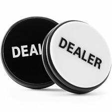 3 Inches Large Double Sided Acrylic Dealer Puck Casino Quality Dealer Button