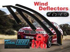 BMW X4  F26  2013 - 2018   5.doors  Wind deflectors 4.pc set HEKO 11163
