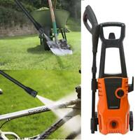 High Power 2000W 1550PSI Electric High Pressure Washer Hose Nozzle Cleaner New