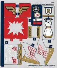 LEGO 41235 - DC Super Hero Girls - Wonder Woman Dorm - STICKER SHEET