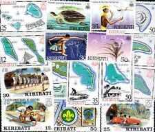Kiribati 100 timbres différents