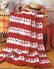 DASH OF WHIMSY - DAY AT PLAY  AFGHANS - 2 VINTAGE CROCHET PATTERNS
