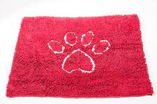 "DogGone Smart NEW Maroon Dirty Dog Mat Super Absorbent Microfiber 31"" x 20"""