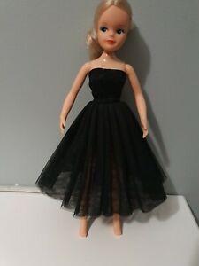 "Beautiful Black Ballet / Tutu / Party Dress fits 29cm / 11"" doll Sindy Barbie"
