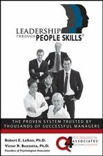 Leadership Through People Skills by Buzzotta, Victor Hardback Book The Cheap