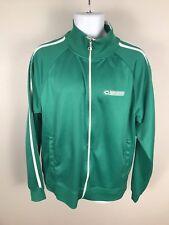 Champion Green Unisersity Of Chicago Fieldhouse Track Jacket Sz XL