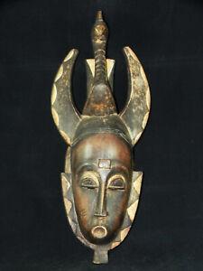 (A174) Maske der Baule/Guro, Elfenbeinküste, Afrika