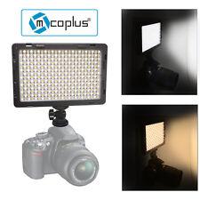 US Mcoplus LED-340B CRI95+ Bi-color Ultra-thin 1600LM Video LED Light for Camera