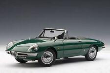 1 18 Autoart Alfa Romeo 1600 Duetto Araignée (vert) 1966