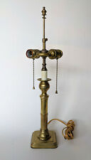English Candlestick Lamp