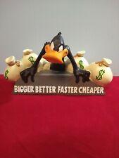 New ListingWarner Bros Store Exclusive Daffy Duck Bigger Better Faster Cheaper Resin Statue