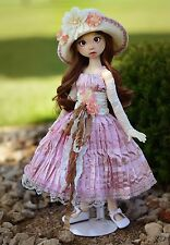 """Beautifully Shabby"" Dress Outfit Clothes for 18"" MSD Kaye Wiggs BJD Liz Frost"