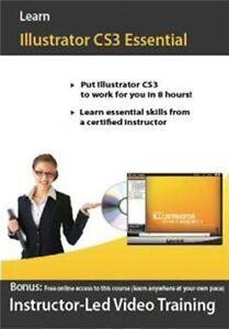 Learn Illustrator CS3 Essential  Video Training  Software  Brand New Sealed
