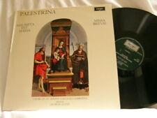 PALESTRINA Assumpta est Maria Missa Brevis George Guest Choir St. John's Argo LP