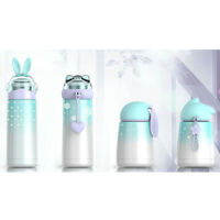 Cartoon Child Double Wall Thermos Water Bottle Stainless Steel Vacuum Insulated