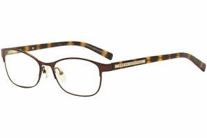 Armani Exchange Women's Eyeglasses AX1010 AX/1010 6001 Brown Optical Frame 53mm