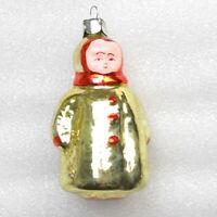 Russen Christbaumschmuck Glas Weihnachtsschmuck Christmas Ornament Girl Mädchen