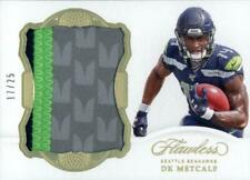 2019 FLAWLESS ROOKIE PATCH DK METCALF 7/25 FOOTBALL CARD SEATTLE SEAHAWKS