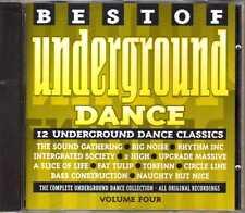 Compilation - Best Of Underground Dance Volume 4 - CD - 1994 - House