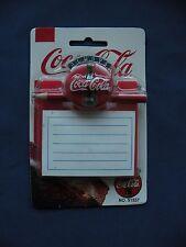 Coca-Cola Magnet 1995 tablet with pencil No.51557 in orginal package