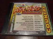 CHARTBUSTER HOT HITS COUNTRY KARAOKE DISC 60432M FEBRUARY 2010 #2 CD+G MULTIPLEX