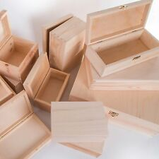 Wooden Home Storage Boxes With Compartments Ebay