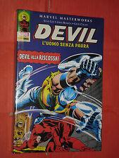 ABSOLUTE MASTERWORKS-DEVIL n°2-L'UOMO SENZA PAURA-CARTONATO-MARVEL PANINI-NUOVO