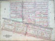 1904 Bedford Stuyvesant Brooklyn Ny Future Home Boys & Girls H.S. Atlas Map