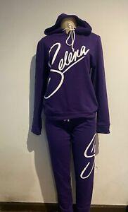 Women Selena Purple Hoodie & Pants 2-piece Set