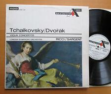 ADD 126 Ruggiero Ricci Tchaikovsky Dvorak Violin Concertos Sargent Decca Mono NM