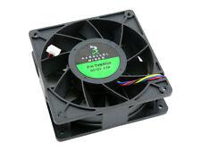 5500 RPM 4 Pin Cooling Fan 250 CFM 2.8A 12V 120mm x 38mm ASIC GPU Miner Mining