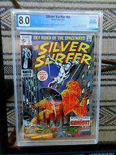 Silver Surfer 8  8.0  KEY - 1st app Flying Dutchman 2nd app of Mephisto PGX CGC