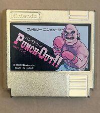 Punch Out Gold Cartridge Nintendo Famicom Japan