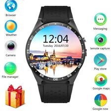 KW88 Android 5.1 Smart Watch Quad Core Bluetooth 3G GPS WIFI