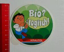 ADESIVI/Sticker: krautol-biologicamente (070516163)