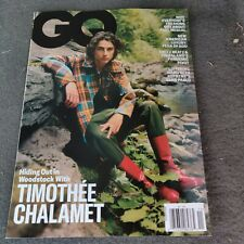 TIMOTHEE CHALAMET - GQ MAGAZINE - NOVEMBER 2020