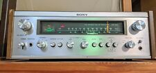 SONY STR-7025 Nice Gorgeous Receiver vintage silver face Japan