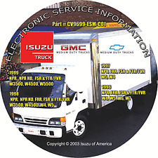 1996-1999 Isuzu NPR FRR FSR FTR FVR GMC W4-W5500 Truck Gas Diesel Repair Manual