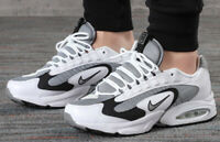 NIKE AIR MAX TRIAX 96 WHITE, GREY & VOLT Trainers Limited Stock All Sizes