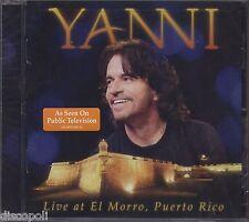 YANNI - Live At El Morro, Puerto Rico - CD 2012 SEALED SIGILLATO