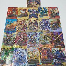 "Future Card Buddyfight ""50"" Card Lot Deck Building Kit! Choose your World!"