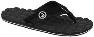 Volcom Recliner Sandal - Black / White - New
