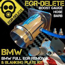 BMW 3.0d 3 5 7 Series 330D 530D 730D EGR DELETE BLANKING plate Boost Gauge barb
