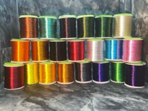 FLY TYING FLOSS - 20 COLORS